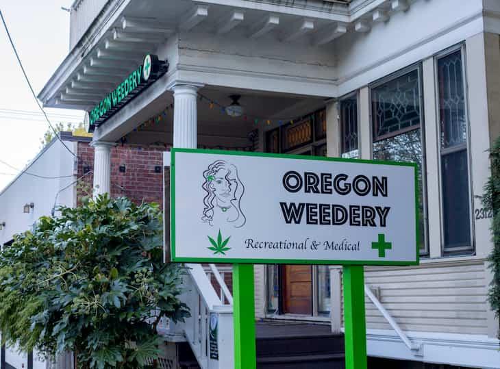 oregon marijuana dispensary