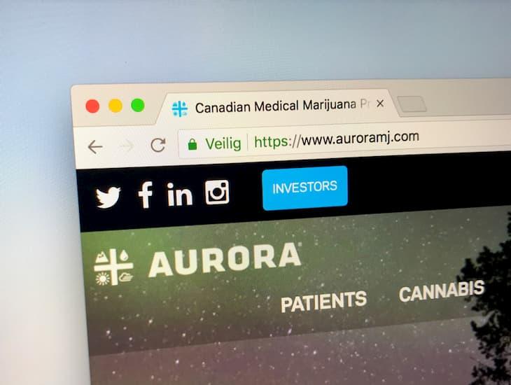 aurora cannabis company