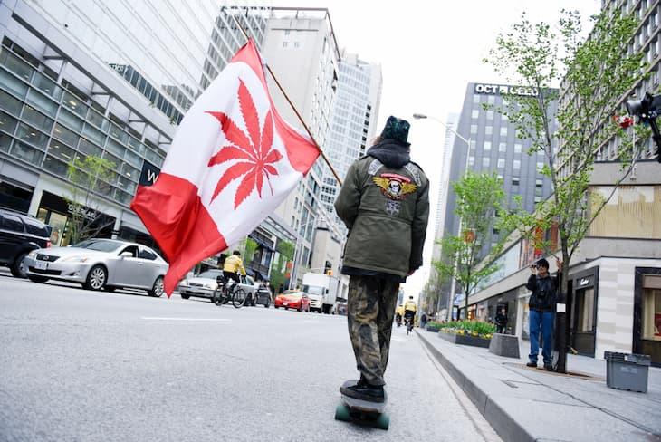 Marijuana insdustries in canada