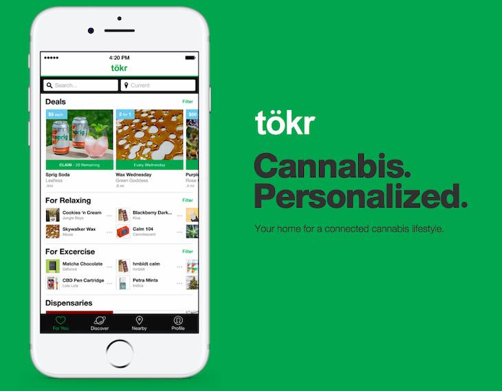 tokr cannabis app