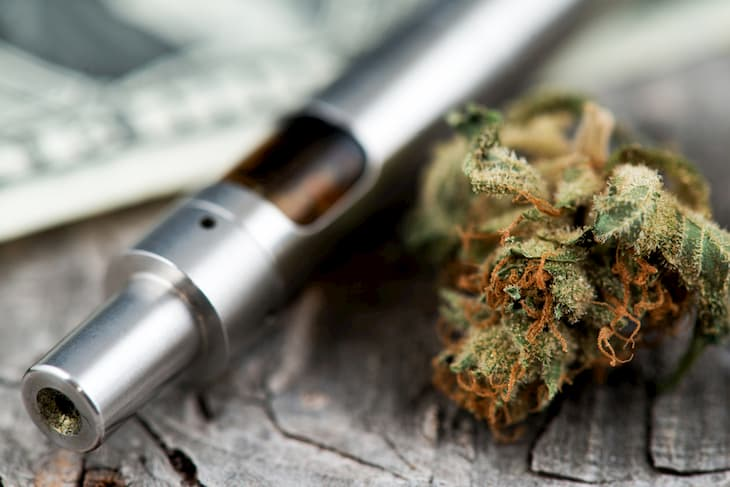 cannabis vaping products