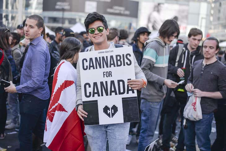 Cannabis use among teens In Canada