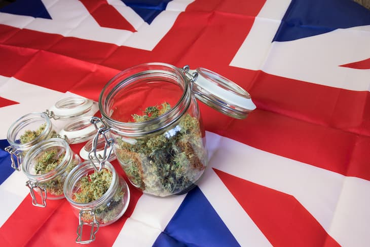 UK weed laws